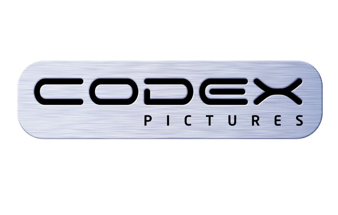 State of the art logo for Codex Pictures by Pylon Design