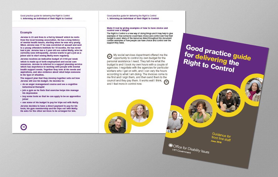 Unique corporate ODI brochure by Pylon Design