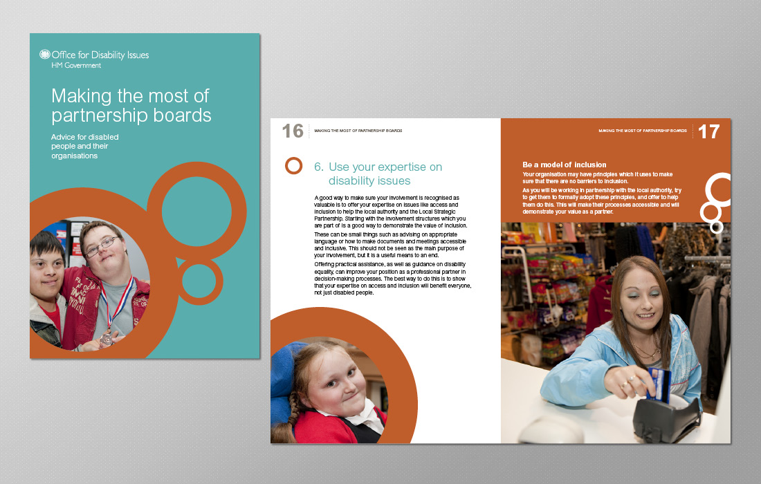 Corporate and stand alone brochure for the ODI by Pylon Design