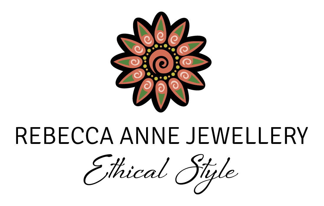 Rebecca Anne Jewellery Logo designed by Pylon Design