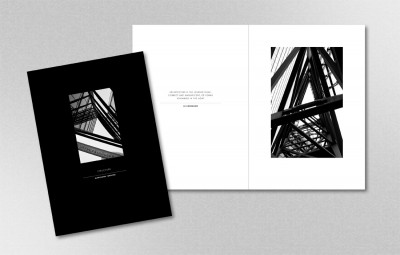 Promotional photographic brochure for Marianne Fewster by Pylon Design