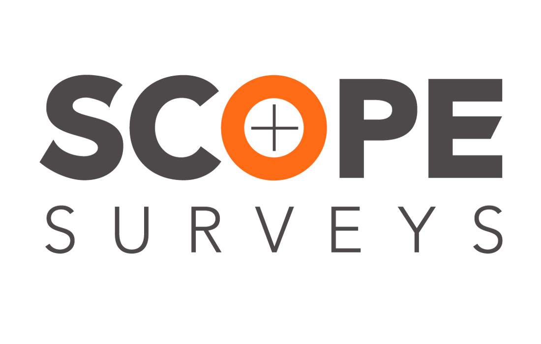 Land Surveying Company Scope Surveys Logo