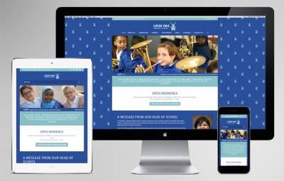 Lucas Vale Primary School in Deptford, London, website